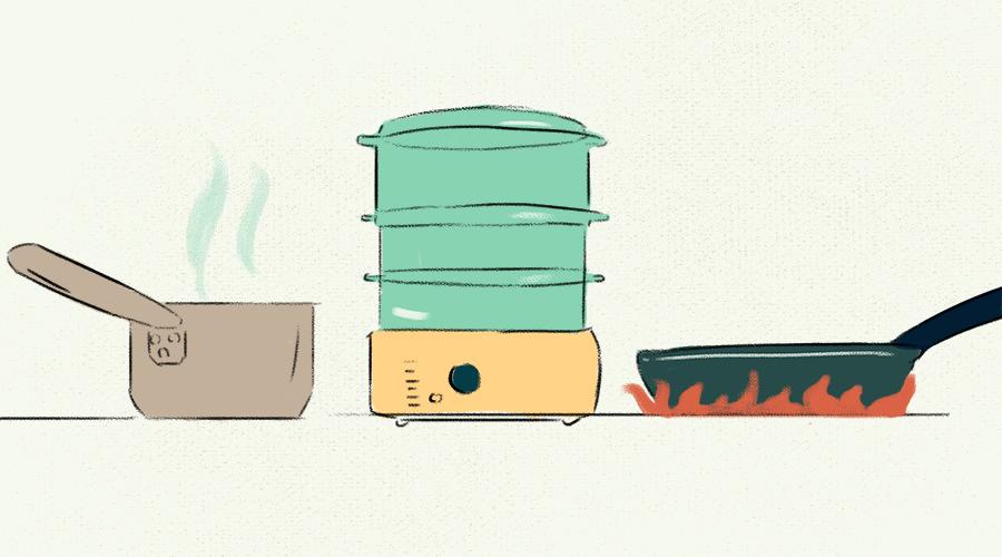 как готовить полезно
