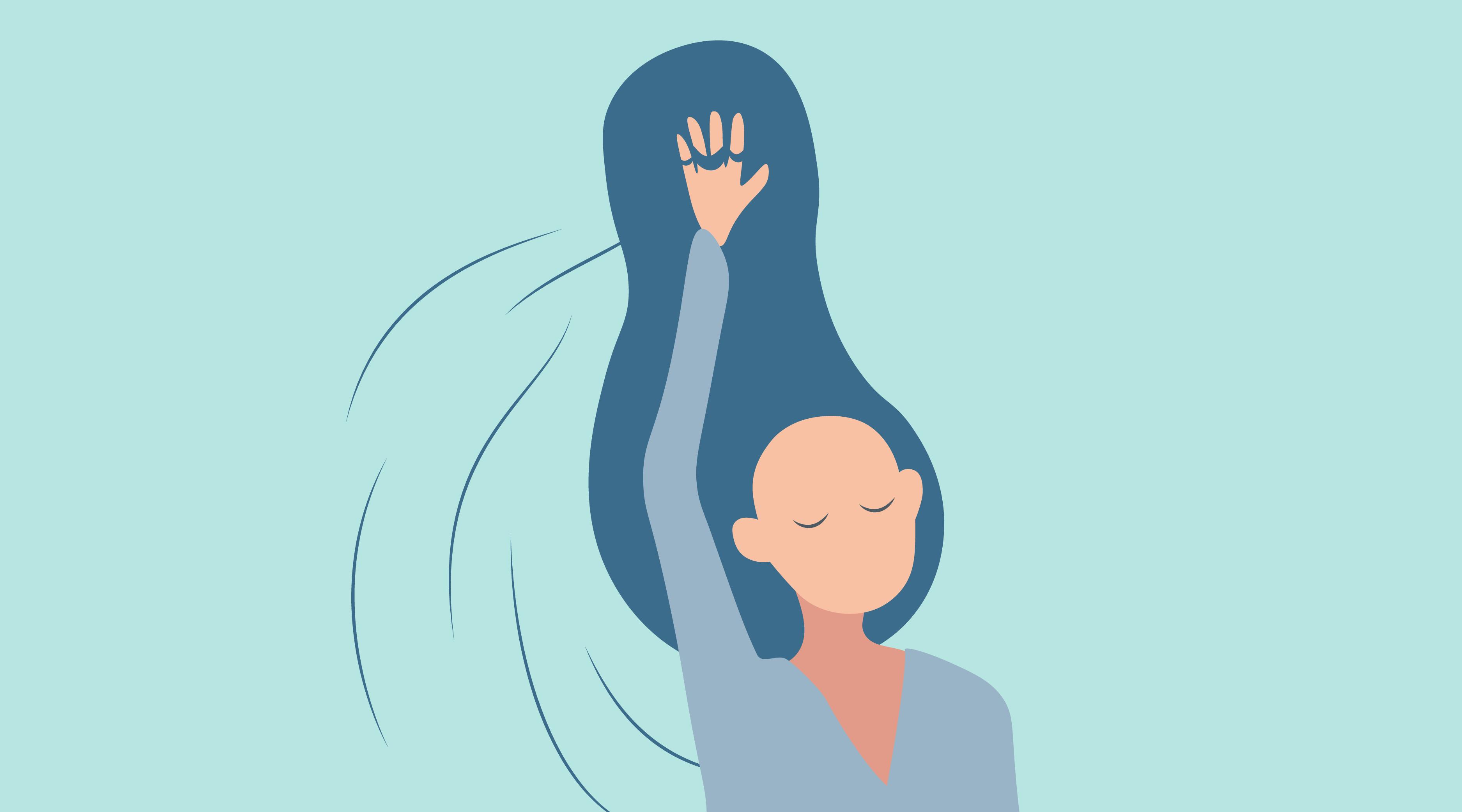 волосы во время менопаузы