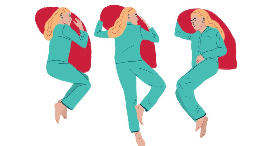 после сна болит спина