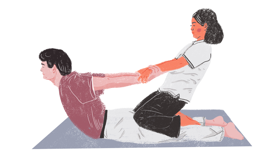 tajskij massazh nogami