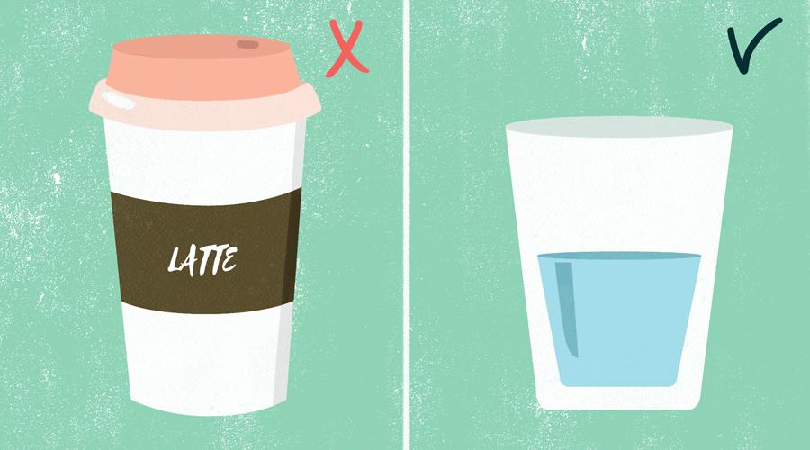 iskljuchite iz raciona kofein