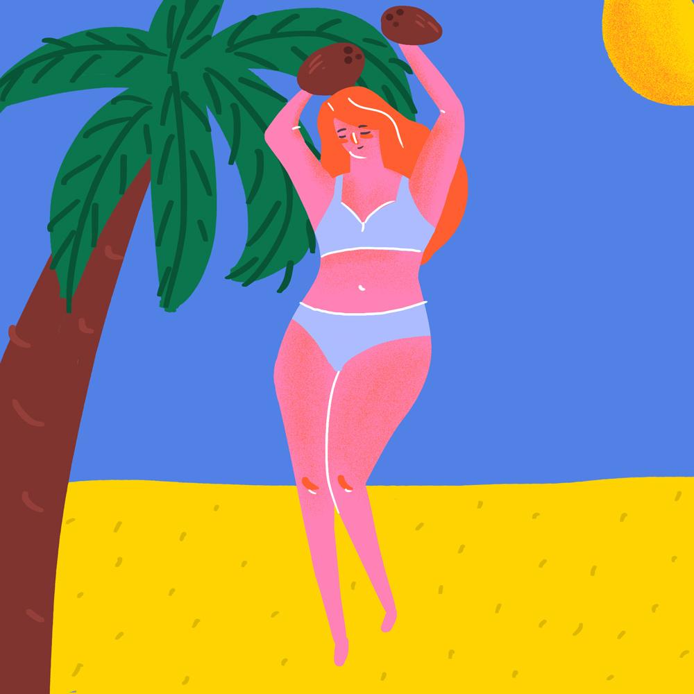 kokosovoe maslo pomogaet pri ozhogah