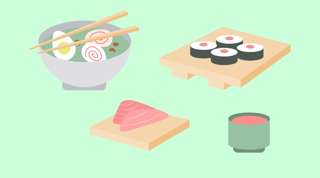 japonskie sushi