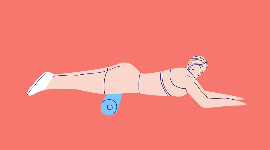 massazh perednej poverhnosti bedra