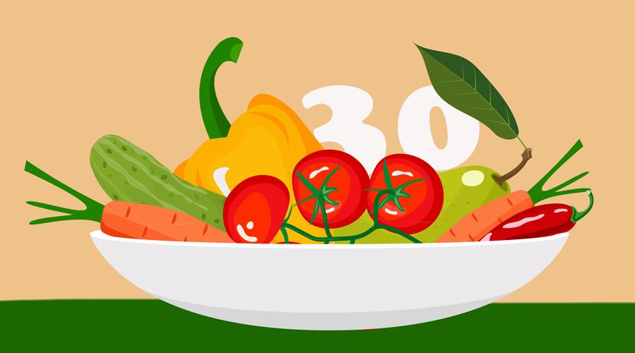 Топ-10 самых низкокалорийных продуктов питания