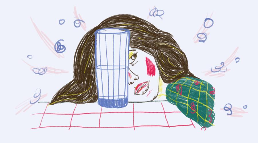 Симптомы обезвоживания у взрослых людей