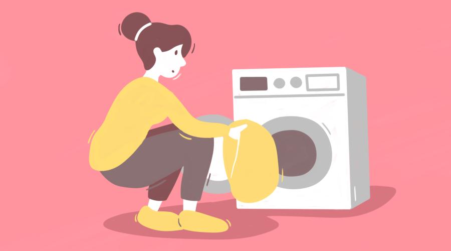 При скольки градусах стирать постельное белье