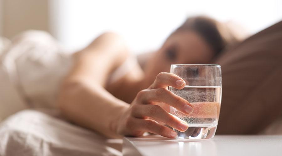 pit vodu po utram