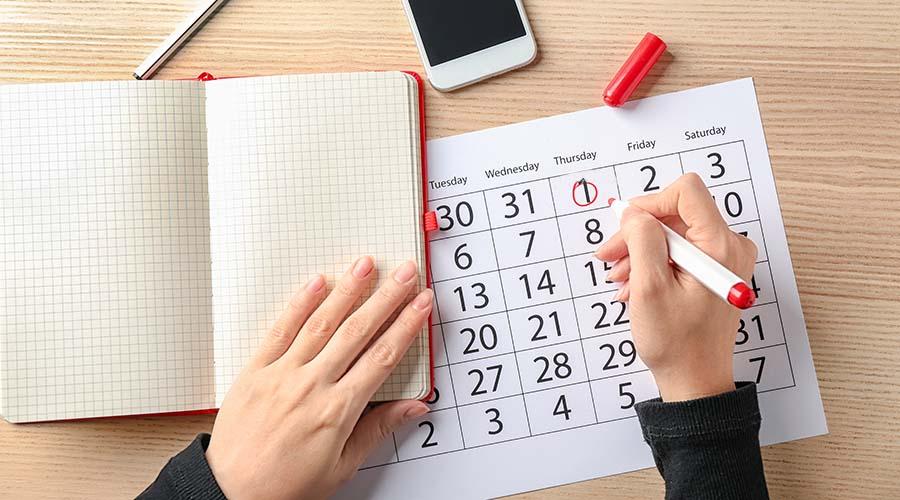 otmechajte dostizhenija v kalendare